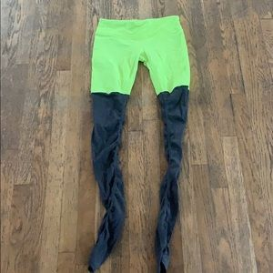 ALO Goddess Leggings Neon Size M